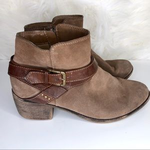 Sonoma Shoes - SONOMA | wooden heel ankle boot